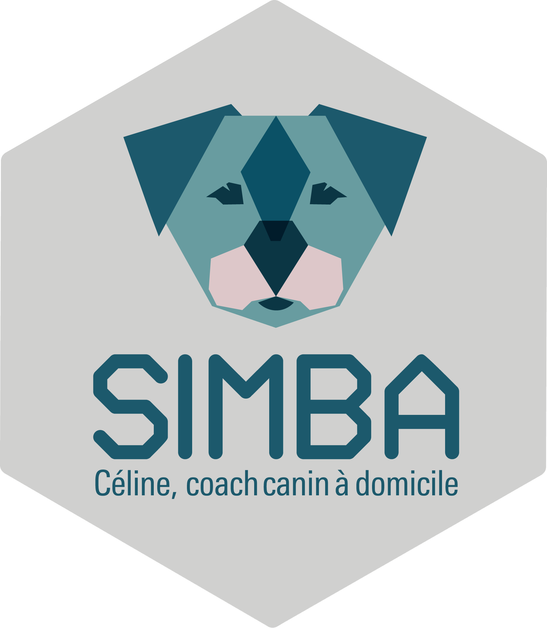 logo de simba-canin ®, education canine